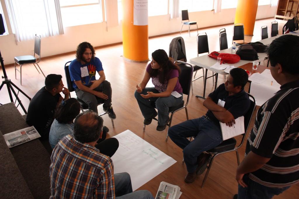 Participantes del 2do Taller nacional de derechos humanos desde la comunicación