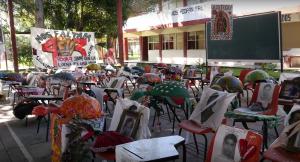 Classroom Memorial Ayotzinapa 201507