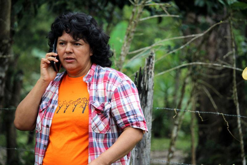 Berta Cáceres. Imagen del usuario de Flickr coolloud. Usada bajo licencia CC 2.0